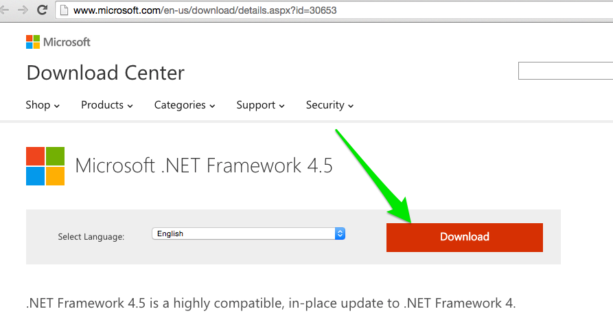 How to Install the .NET 4.5 Framework for Windows 7 – Breezy Support